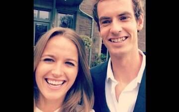 Murray se casa e não convida tenistas famosos