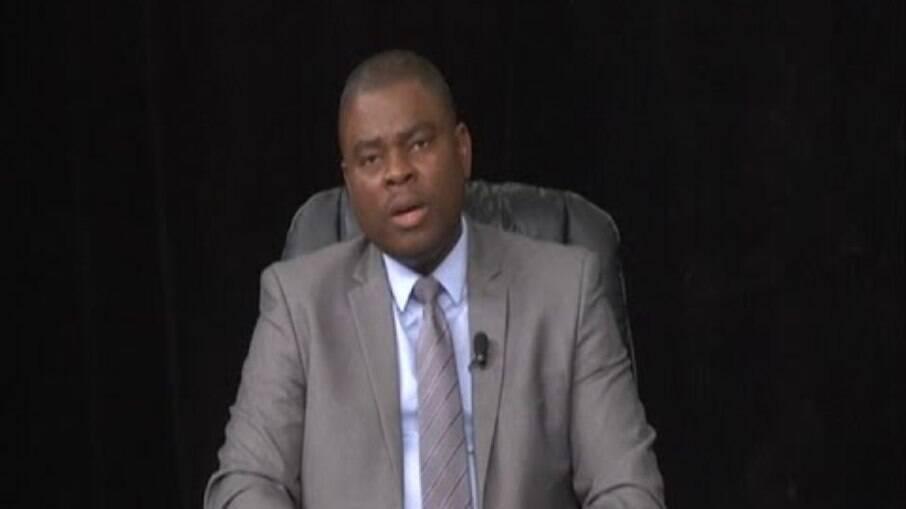 Jean Negot Delva, chefe do Escritório Nacional de Migração do Haiti