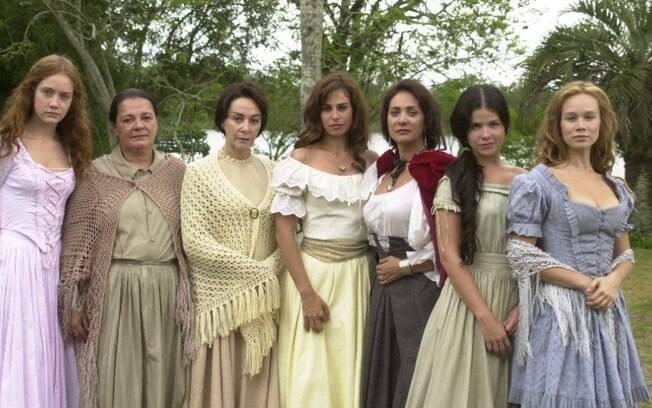 Com grandes mulheres no elenco e  um núcleo majoritariamente feminino