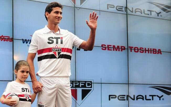 Ganso custou R$ 24 milhões ao São Paulo e é o  quinto da lista. Hoje vale R$ 34,5 milhões