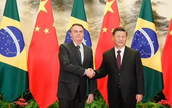 Os dois presidentes expressaram a determinação em ampliar o comércio e diversificar o intercâmbio de produtos.