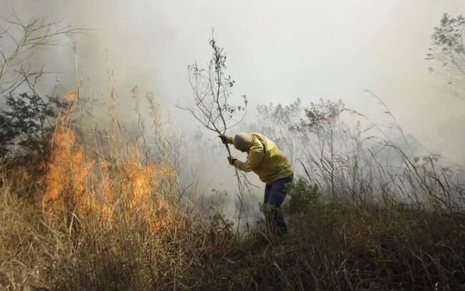 Incêndio toma grandes proporções na Austrália