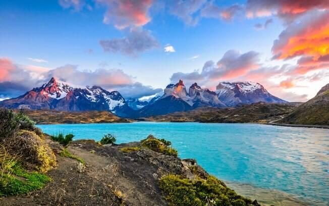 Lugares para viajar em janeiro: a Patagônia irá te surpreender com lindas paisagens e uma atmosfera de tirar o fôlego