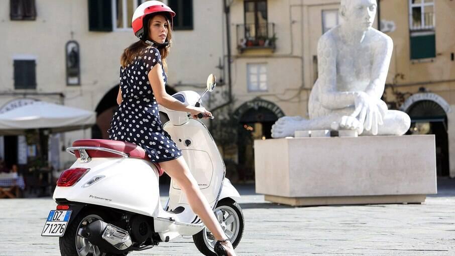 Vespa Primavera: versão vendida na Itália mantém o charme do modelo original dos anos 50