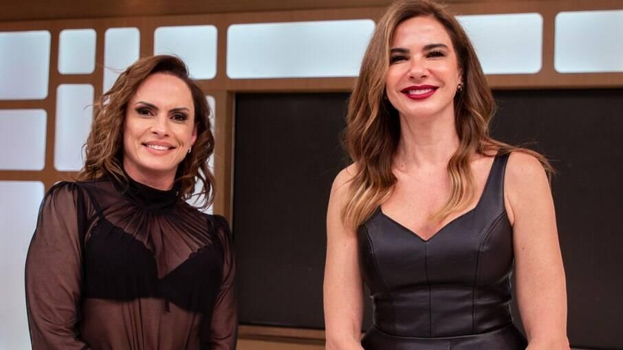 Nubia Oliiver e Luciana Gimenez