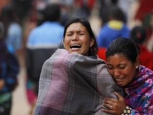 Veja imagens após terremoto