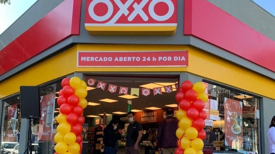 Mercado Oxxo em São Paulo