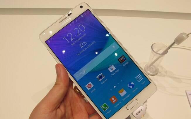 Galaxy Note 4 é nova versão de smartphone de sucesso da Samsung