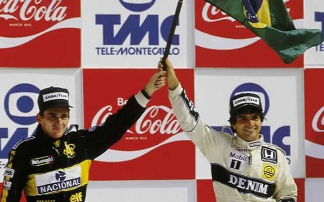 1986 - Nelson Piquet e Ayrton Senna