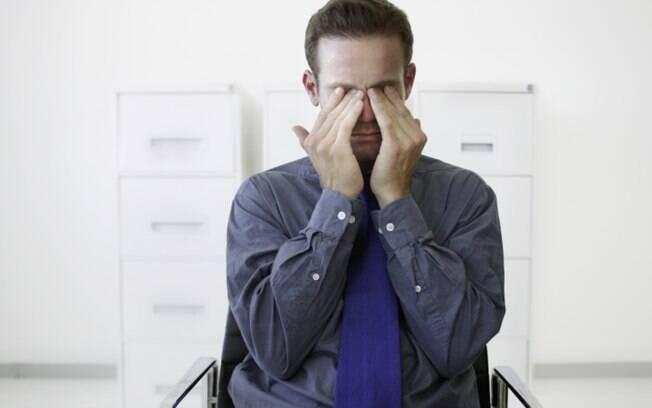 Perda de visão: visão turva ou dupla, especialmente se for em um olho só. Foto: Thinkstock/Getty Images