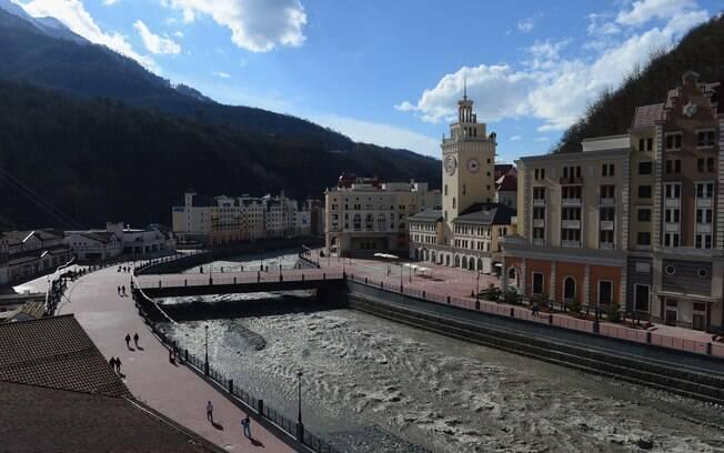 Sochi, a cidade que irá sediar os jogos olímpicos de Inverno no próximo ano