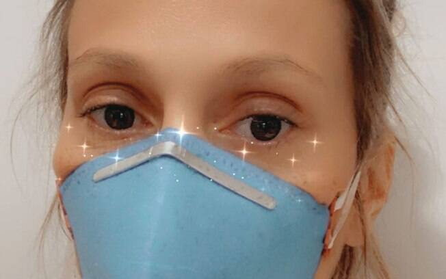 Luisa Mell e o marido estão com pneumonia e existe a suspeita de ter sido causada pelo novo coronavírus
