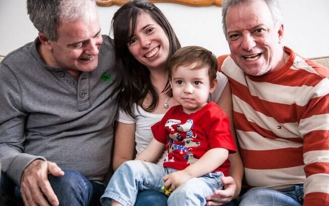 Com um pai gay e mãe solteira, Mariana é um retrato dos novos modelos familiares. Foto: Edu Cesar