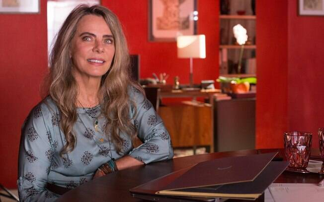 Bruna Lombardi vive Sofia em