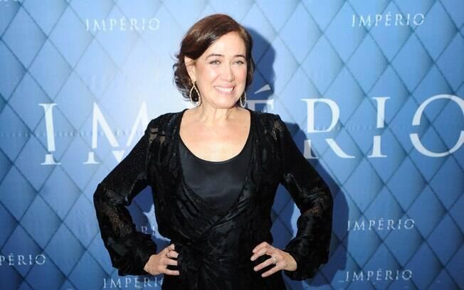 Lília Cabral na festa de lançamento de 'Império'