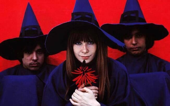 Os Mutantes foram uma das bandas mais famosas do Brasil