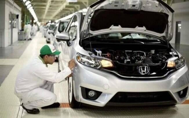 Linha de montagem da Honda vai voltar a funcionar apenas a partir do dia 27 de março, por conta da pandemia