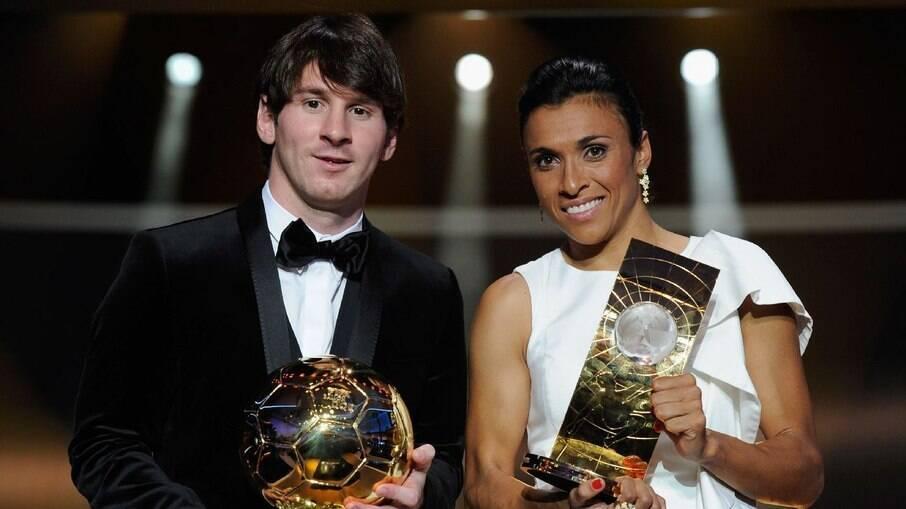 Marta e Messi
