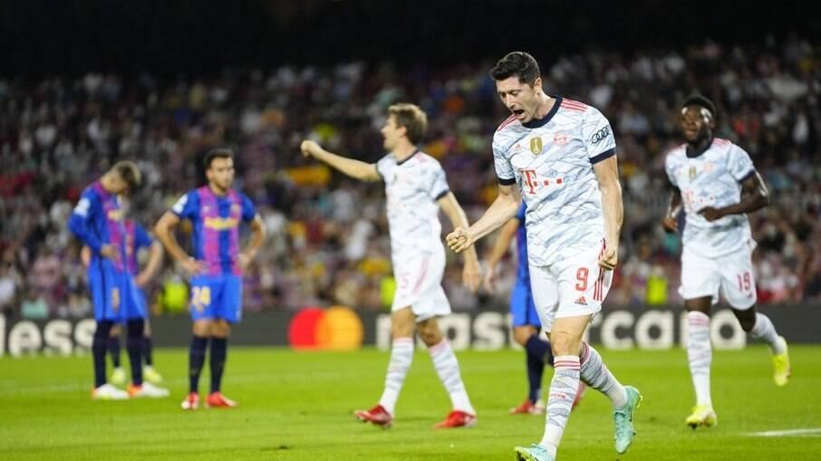 Barcelona foi derrotado para o Bayern em casa