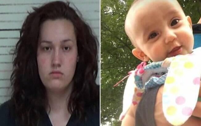 Cheyenne Summer Stuckey, de 21 anos, esqueceu sua filha na banheira, e quando lembrou da bebê, percebeu que ela havia se afogado