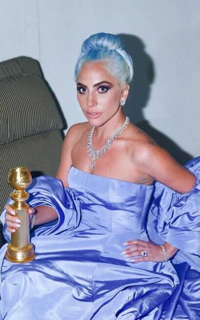 Lady Gaga no Globo de Ouro