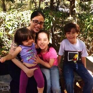Marcia e os filhos: 'livres para decidir o bonito e o feio pelo ponto de vista deles'