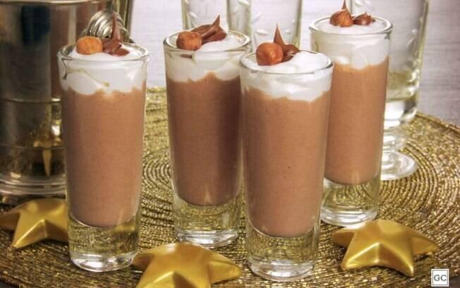 Mousse de avel: sobremesa fcil para as festas de final de ano