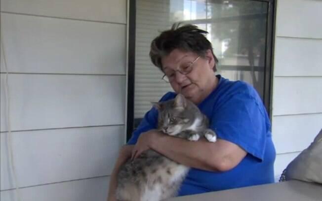 O caso do gato ficou famoso nos Estados Unidos, e ele e sua dona foram chamados para dar inúmeras entrevistas