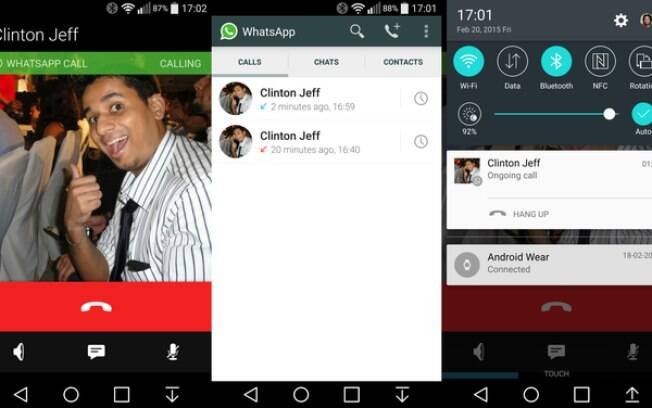 Função de chamada telefônica no WhatsApp apareceu para alguns usuários de Android no dia 20