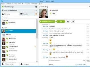 Os usuários poderão iniciar bate-papos por mensagens com os amigos que ainda usam MSN Messenger até o fim do serviço, no início de 2013