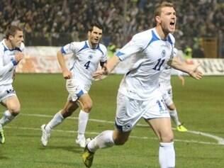 Seleção bósnia quer ser uma das surpresas da Copa do Mundo de 2014