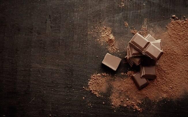Chocolate em barras