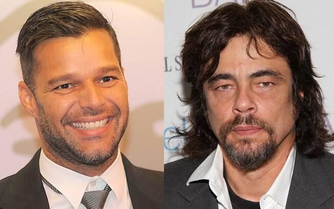 Ricky Martin e Benício Del Toro: cidadãos espanhóis