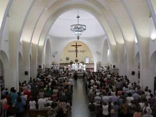 Por receber um grande número de peregrinos, templo recebe status de santuário