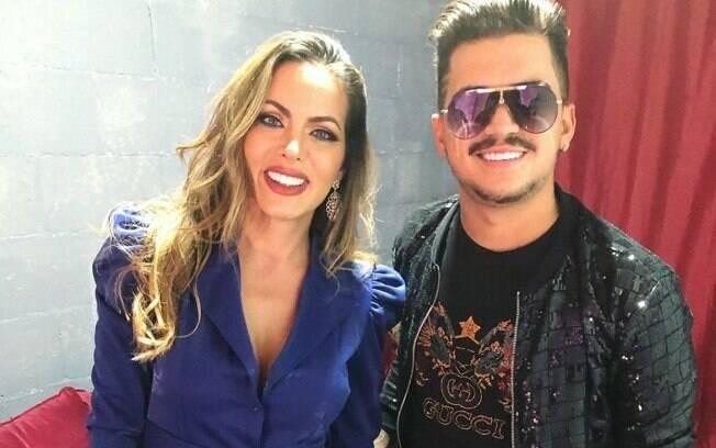 Carla Prata e Gutto Soares