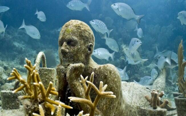 Museu Subaquático de Arte, de Cancún