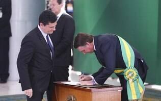 Moro acompanhará Bolsonaro em viagem a Davos para defender combate à corrupção