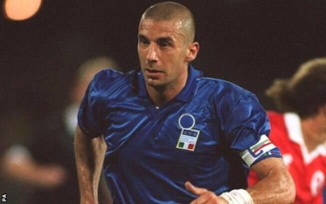Gianluca Vialli defendeu a Itália em dois Mundiais