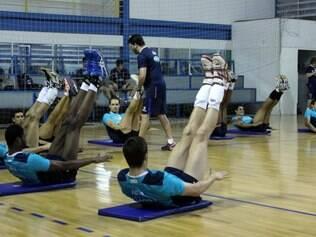 Fábio Correia tem a função de deixar os atletas em 'ponto de bala'