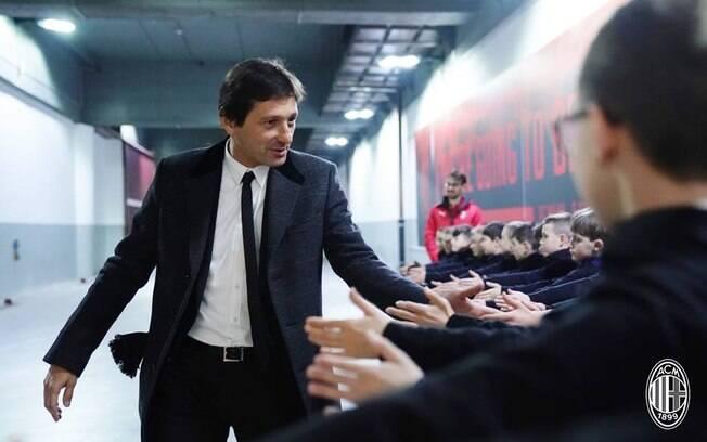 Dirigente do Milan, Leonardo foi criticado por Ministro Italiano
