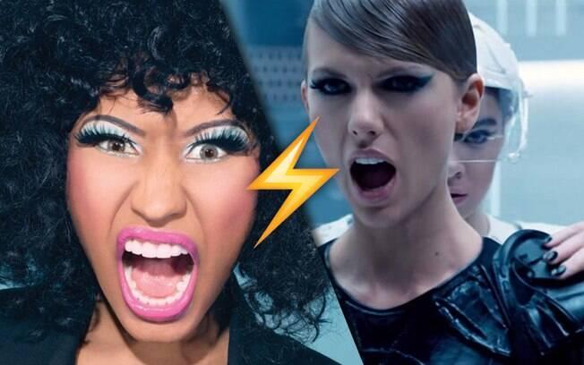 Nicki Minaj x Taylor Swift foi a melhor / mais épica briga de celebridades no Twitter de 2015