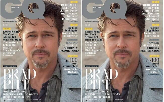 Brad Pitt na capa da GQ inglesa