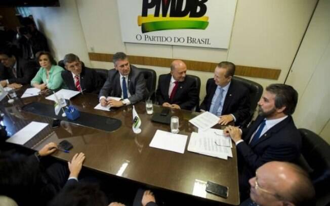 Comissão Executiva Nacional do PMDB se reúne na Câmara dos Deputados e decide permitir novas filiações somente com aval do colegiado