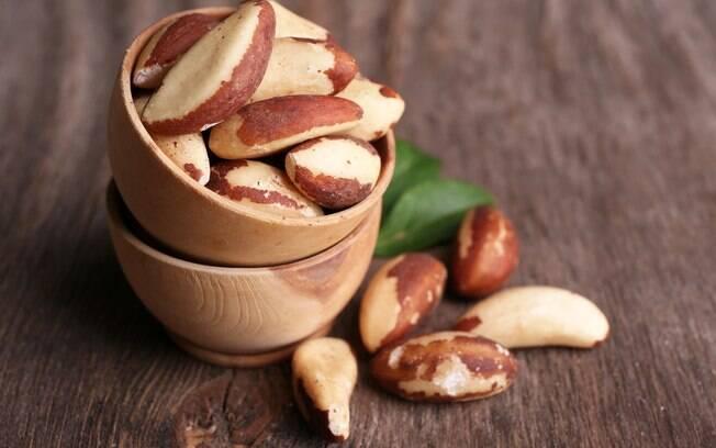 Castanhas são fontes de proteína vegetal e boas gorduras