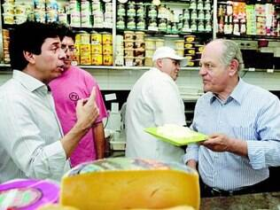 Dinis Pinheiro e Pimenta da Veiga visitaram a Feira dos Produtores