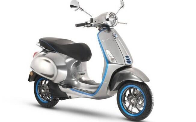 Vespa elétrica une a tradição italiana na produção de scooteres ao futurista, com foco nas tecnologias e na mobilidade