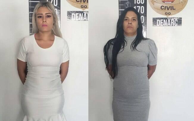 A Polícia Civil de Goiás prendeu duas mulheres que facilitavam a entrada de drogas e aparelhos celulares em um presídio.