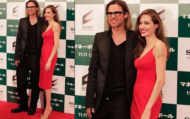 Angelina Jolie e Brad Pitt: imortaliazados no Museu de Cera do México