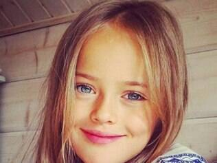 Segundo internautas, Kristina Pimenova é a menina mais bonita do mundo
