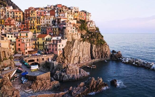 Manarola é uma das cinco charmosas vilas que formam a Cinque Terre